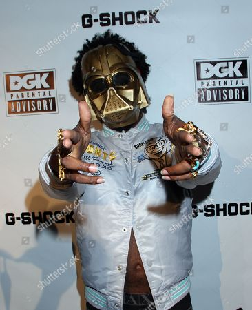 Recording artist Trinidad James attends Parental Advisory Premiere and Concert on Tuesday, December, 11th, 2012, at Avalon in Hollywood, California