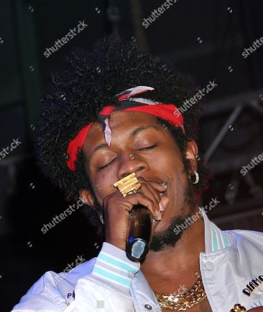 Rapper Trinidad James performs at DGK Parental Advisory Premiere and Concert on Tuesday, December, 11th, 2012, at Avalon in Hollywood, California