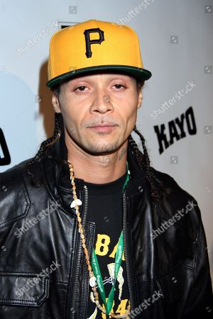 Rapper Bizzy Bone of Bone Thugs-n-Harmony attends DGK Parental Advisory Premiere and Concert on Tuesday, December, 11th, 2012, at Avalonl in Hollywood, California