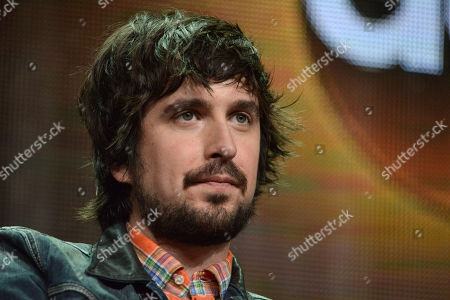 Stock Photo of Nicolas Wright speaks on stage during the 'Manhattan Love Story'' panel at the Disney/ABC Television Group 2014 Summer TCA at the Beverly Hilton Hotel, in Beverly Hills, Calif