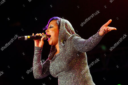 Monifah Carter performs at the Essence Music Festival in New Orleans on