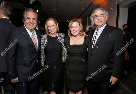 Chairman and Chief Executive Officer of Fox Filmed Entertainment Jim Gianopulos, Fox Searchlight President of Production Claudia Lewis, Fox Searchlight President Nancy Utley, and Fox Searchlight President Steve Gilula attend the Los Angeles Premiere of Fox Searchlight's 'Wild' at AMPAS Samuel Goldwyn Theater on in Los Angeles