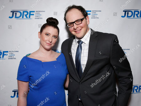 Austin Basis (right) and guest attend the JDRF LA's 10th Annual Finding A Cure: The Love Story Gala at the Hyatt Regency Century Plaza on in Century City, California