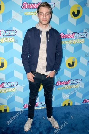 Cameron Fuller attends the Just Jared Summer Party, in Los Angeles, Calif