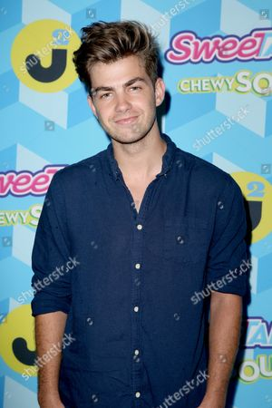 Cameron Palatas attends the Just Jared Summer Party, in Los Angeles, Calif
