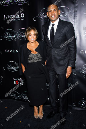 Tamia Hill and Grant Hill attend Keep a Child Alive's 10th Annual Black Ball on in New York