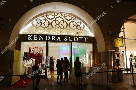 Boutique exterior during the Luxe Party at the Kendra Scott Fashion Island Boutique, in Newport Beach, Calif