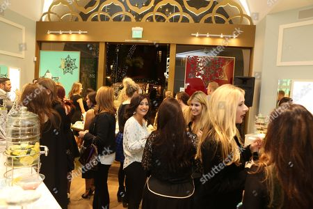 Boutique interior during the Luxe Party at the Kendra Scott Fashion Island Boutique, in Newport Beach, Calif