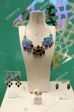 The Kendra Scott Luxe collection of jewelry during the Luxe Party at the Kendra Scott Fashion Island Boutique, in Newport Beach, Calif