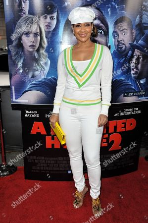 """Lisa Ray arrives at the LA Premiere Of """"A Haunted House 2"""" on in Los Angeles"""