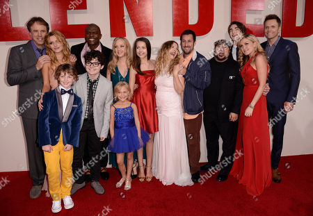 """Editorial picture of LA Premiere of """"Blended"""" - Red Carpet, Los Angeles, USA - 21 May 2014"""