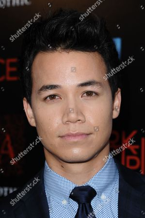 "Shannon Kook arrives at the LA Premiere of ""Dark Places"" held at Harmony Gold Theater on in Los Angeles"