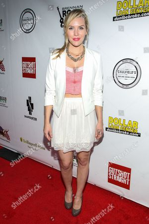 """Actress Kirstin Ford arrives at the premiere of """"Gutshot Straight"""" on in Los Angeles"""