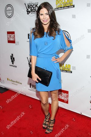"Stock Image of Actress Ali Costello arrives at the premiere of ""Gutshot Straight"" on in Los Angeles"