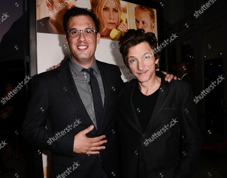 "Director Daniel Schechter, left, and actor John Hawkes attend the premiere of the feature film ""Life of Crime"" at the ArcLight Hollywood on in Los Angeles"