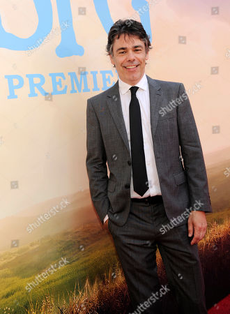 "Jonathan Holmes, a cast member in ""The BFG,"" poses at the premiere of the film at the El Capitan Theatre, in Los Angeles"