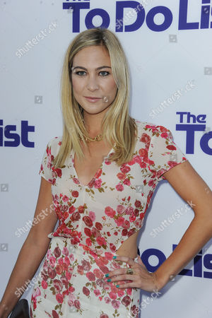 """Molly McQueen arrives at the LA Premiere of """"The to Do List"""" at the Regency Bruin Theatre on in Los Angeles"""