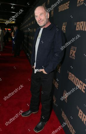 "Editorial picture of LA Premiere Screening of ""The Bridge"" - Red Carpet, West Hollywood, USA - 7 Jul 2014"