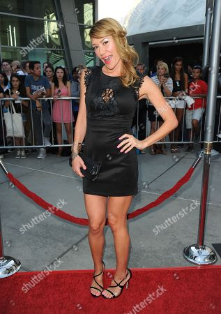 """Sun Nea arrives at a special screening for """"I Give It A Year"""" at the ArcLight Hollywood on in Los Angeles"""