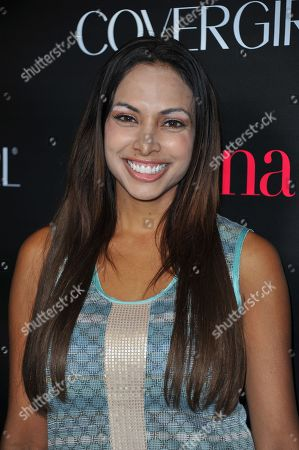 Nadia Dawn attends Latinos in Hollywood at The London Hotel on in West Hollywood, Calif