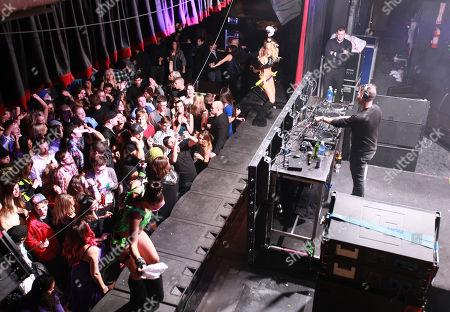 DJ Zen Freeman spins onstage during Park City Live Day 1, in Park City, Utah