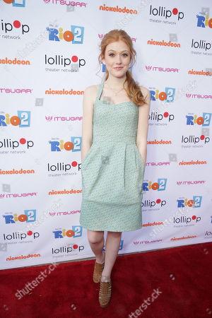 "Kat McNamara seen at Lollipop Theater Network's ""A Night Under the Stars"" at Nickelodeon Animation Studios, in Burbank, CA"