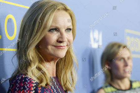 Joan Allen seen at the Los Angeles Premiere of A24's 'Room' at the Pacific Design Center on in West Hollywood, Calif