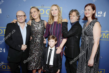 Director Lenny Abrahamson, Brie Larson, Jacob Tremblay, Joan Allen, William H. Macy and Writer Emma Donoghue seen at the Los Angeles Premiere of A24's 'Room' at the Pacific Design Center on in West Hollywood, Calif