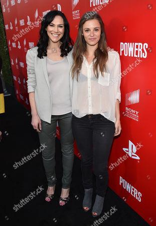 "Editorial image of Los Angeles Premiere Of PlayStation's Original Series ""Powers"", Culver City, USA - 9 Mar 2015"