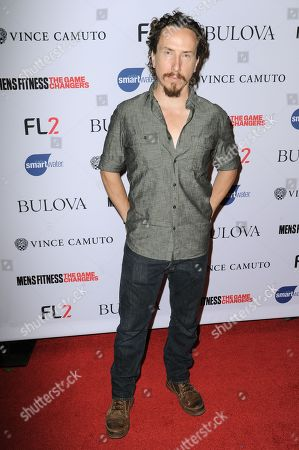 """Actor Michael Traynor arrives at Men's Fitness Magazine's """"Game Changers"""" Celebration, at Palihouse in West Hollywood, Calif"""