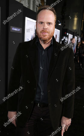 Stock Image of Pedro Bromfman seen at Metro-Goldwyn-Mayer and Columbia Pictures Los Angeles premiere of 'Robocop', on Monday, Feb, 10, 2014 in Los Angeles
