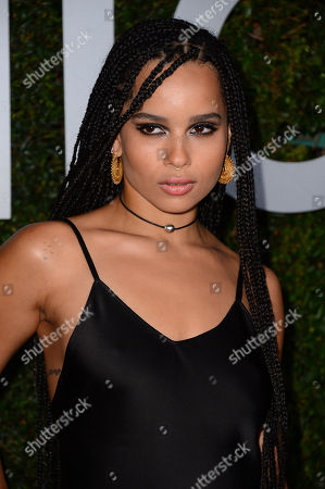 "Zoe Kravitz arrives at the Michael Kors launch of Claiborne Swanson Frank's ""Young Hollywood"" on in Beverly Hills"