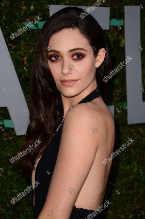 "Emmy Rossum arrives at the Michael Kors launch of Claiborne Swanson Frank's ""Young Hollywood"" on in Beverly Hills"