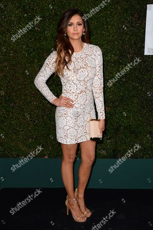 "Nina Dobrev arrives at the Michael Kors launch of Claiborne Swanson Frank's ""Young Hollywood"" on in Beverly Hills"
