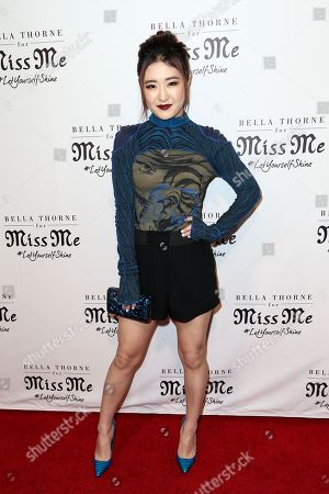 Stock Picture of Megan Lee attends the Miss Me Spring Campaign Launch Event held at The Terrace at Sunset Tower Hotel, in Los Angeles