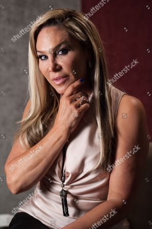 """Adrienne Maloof attends Reggie Benjamin's """"Mission Save Her"""" recording session, in Los Angeles"""