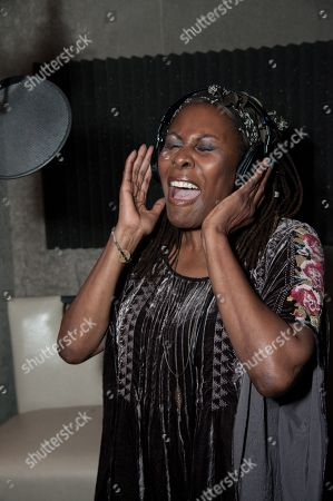 Editorial image of Mission Save Her Recording Session, Los Angeles, USA - 9 Oct 2014