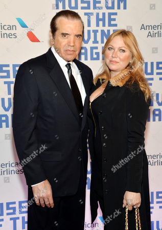 Actor Chazz Palminteri and wife Gianna Palminteri attend the Museum of the Moving Image salute to Kevin Spacey on in New York