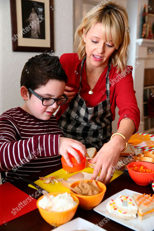 Editorial image of Nature's Harvest Kitchen Crash with Celebrity Chef Kelsey Nixon, Forney, USA - 13 Dec 2015