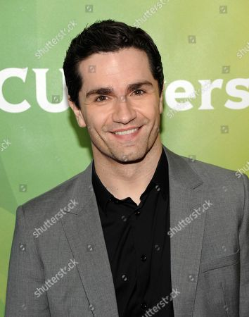 Actor Sam Witwer attends the NBC Universal Winter TCA Tour at the Langham Huntington Hotel, in Pasadena, Calif