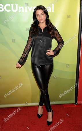 Actress Vanessa Ferlito attends the NBC Universal Winter TCA Tour at the Langham Huntington Hotel, in Pasadena, Calif