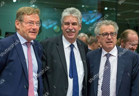 Editorial picture of Eurogroup Finance Ministers meet in Brussels, Belgium - 06 Nov 2017