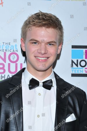 Actor Kenton Duty is seen at the No Bull 2014 Teen Video Awards at The Westin Hotel on in Los Angeles, California
