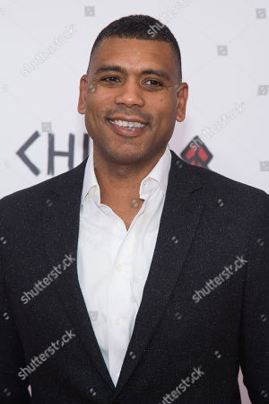 "Allan Houston attends the premiere of ""Chi-Raq"" at the Ziegfeld Theatre, in New York"