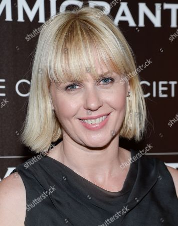 """Stock Image of Jicky Schnee attends the premiere of """"The Immigrant"""" hosted by The Weinstein Company with Dior and Vanity Fair at The Paley Center, in New York"""