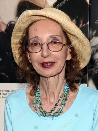 "Joyce Carol Oates attends the ""The Stanford Prison Experiment"" premiere at the Bow Tie Chelsea Cinemas, in New York"