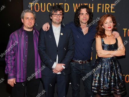 "Editorial picture of NY Premiere of ""Touched With Fire"", New York, USA - 10 Feb 2016"