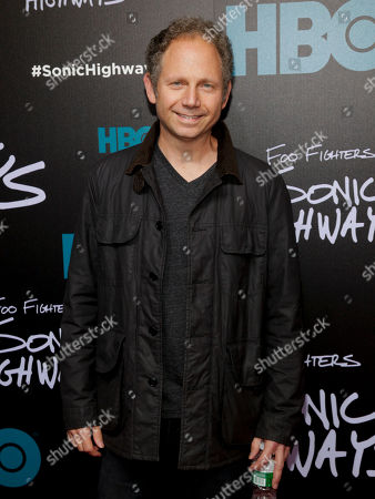 """Rob Burnett attends the premiere of HBO's """"Foo Fighters Sonic Highway"""", In New York"""