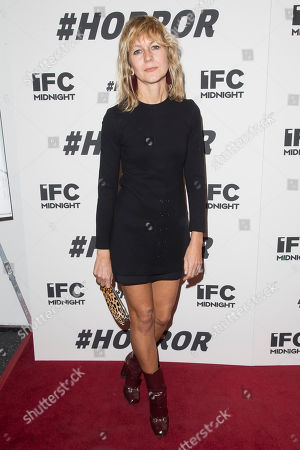 """Natalie Joos attends a special screening of """"#Horror"""" at The Museum of Modern Art, in New York"""