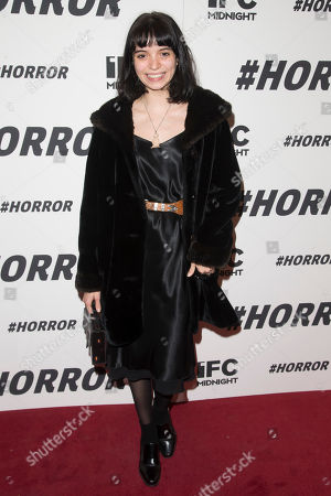 "Rachel Trachtenburg attends a special screening of ""#Horror"" at The Museum of Modern Art, in New York"